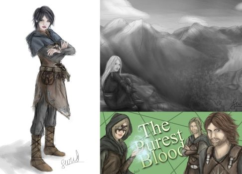 Future Novel, Antiiss, The Purest Blood Three by Cheyanne-Author
