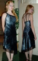 Pewter Gown by Verdaera