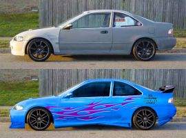 Hot 95 Civic by fastworks