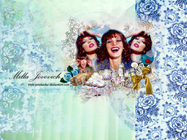 Milla Jovovich Blend by Lilith-Winchester