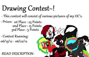 MLP OC Drawing Contest - CLOSED by iPandacakes