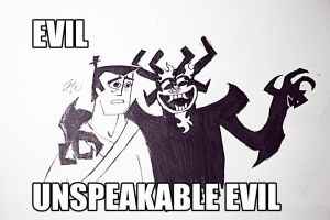 evil. unspeakable evil by pentecil