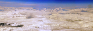 sky panorama from above by Gamekiller48