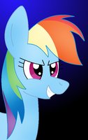 Oh Look Another Drawing Of Rainbow Dash by Zoruaofepic