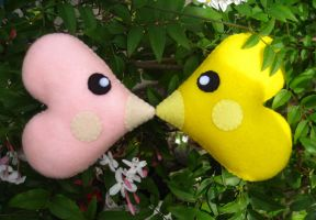 Little Luvdisc Plushes by P-isfor-Plushes