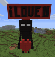 Enderman loves you by Uttra2
