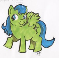 Me as poney by GhostCrabDelight