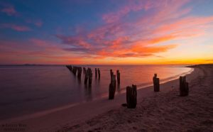 Clifton Springs Sunrise by DanielleMiner