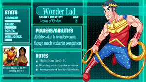 SGPA: Wonder Lad by SunshineRAZZLES