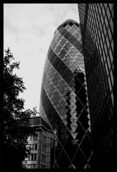 The Gherkin, London by the-one-and-only