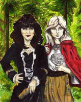 Ann and Nancy Wilson collab by cozywelton