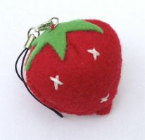 Strawberry Charm by DaftPassion