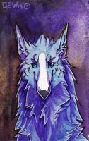 . ACEO commission: Matsumora . by GoldenEyesWolf