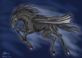 Thestral by Atan