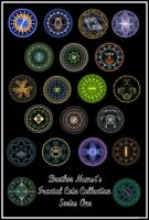 Fractal Coin Series 1 by BrotherNumsi