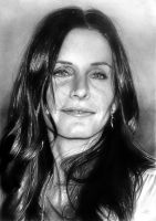 Courteney Cox Arquette by arcitenens