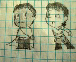 lando and han math doodle by InfamouslyDorky