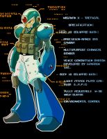Tactical Mega Man X by ManBean
