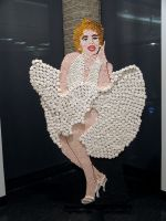Life-Size Marilyn Monroe (Candy) by HeatherHilbrink