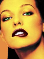 Milla Jovovich Colorised by Artculpit