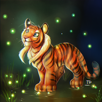 Fireflies by TigresaDaina