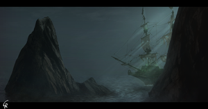 Ghost ship by RobertoGatto