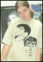Martin and Lewis tee by estranged-illusions