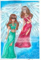 Angels by SeraphimFeathers