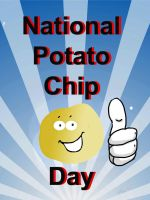 National Potato Chip Day - National  Celebration by Pegarissimo
