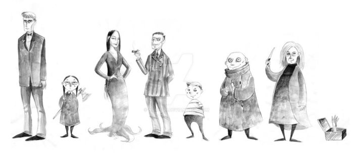 The Addams by Nachan