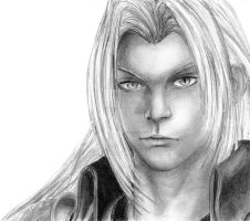 Young Sephiroth? by stalien