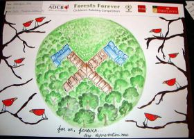 Forests Forever United Nations by Zuzmy