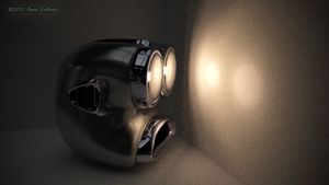 Car style Robot Head 02 by TheBigDaveC