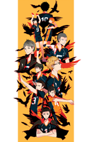 Haikyuu!! by qwoptime