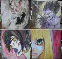 Box painting : Death Note by ROMEOTIC64