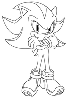 Shadow Lineart by sonictopfan