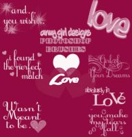 Love Brushes by armygirldesigns