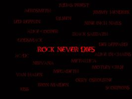 Rock Never Dies by Rayfire