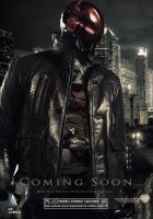 The Dark Knight - Red Hood Poster by Shervell