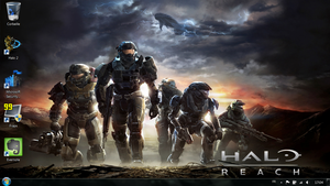 Halo Desktop - Windows 7 by fofo128