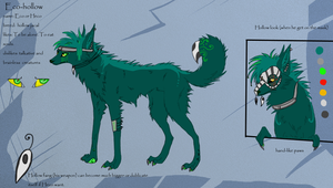 Heco reference sheet _fursona_ by Eco-hollow