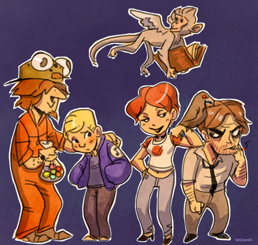 The Wolf Among Us by Rockman0