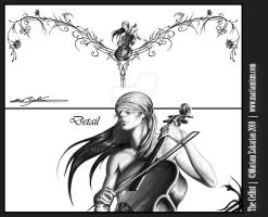 The Cellist by mariamism