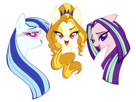 The Dazzlings by SweetTots