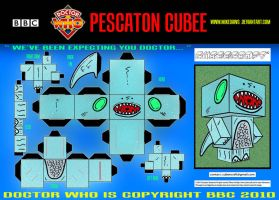 Doctor Who - Pescaton Cubee by mikedaws