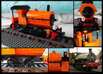 Lego Saddle Tank Engine - small by Kumata