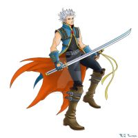 Kingdom Hearts-Vergil Colors by arvalis