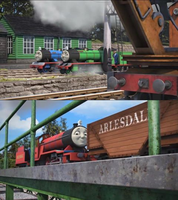 SLOTLT Rex, Bert and Mike new look by GBHtrain