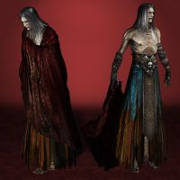 Castlevania Lords of Shadow 2 Old Dracula by ArmachamCorp