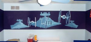 Star Wars Mural by SpuneDagr